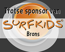 Novymed is trotse sponsor van Surfkids