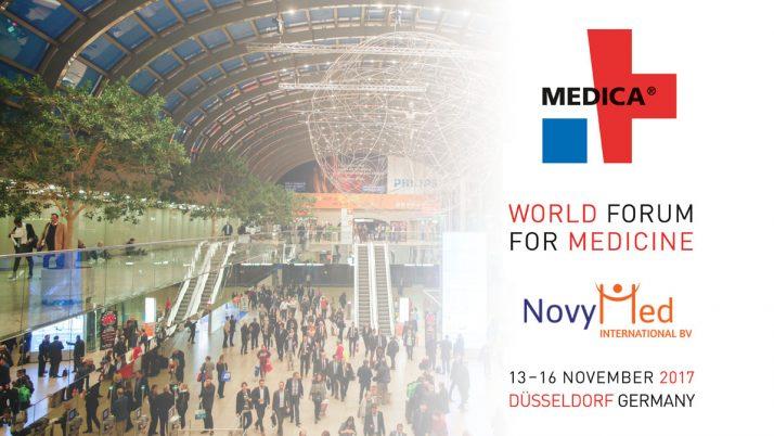 NovyMed vertegenwoordigt op MEDICA 2017 – Düsseldorf