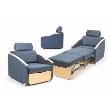 Blauwe Salza bedstoelen