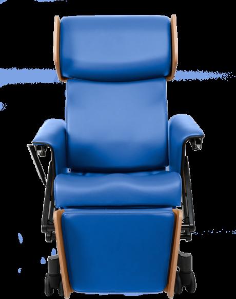 VELA Rumba blauwe stoel